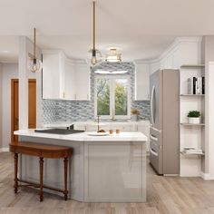 If you're looking for an inspiring design to transform your space, you've come to the right place. ✨⠀ Here's what to expect at our showroom Home Art Tile Kitchen & Bath in Queens, NY. #stockcabinets #kitchencabinets #kitchencabinetry #kitchen #kitchendesign #kitchencabinets #kitchens #kitchenremodel #kitchenreno #kitchenideas #kitchenmakeover #kitchenisland #kitchengoals #kitchenstyle #kitcheninspo #kitchendecoration #kitcheninterior #kitchendetails #remodeling #kitchenrenovation Light Kitchen Cabinets, Kitchen Reno, Kitchen Tiles, Kitchen And Bath, Kitchen Remodel, Kitchen Design, Stock Cabinets, Dark Countertops, Kitchen Lighting