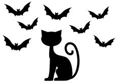 le chat noir dhalloween Halloween Chat Noir, Photo Chat, Christmas Colors, Nightmare Before Christmas, Deco, Cats, Character, Images, Online Coloring