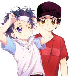 Yukimura and Sanada prince of tennis Prince Of Tennis Anime, Anime Prince, Tennis Pictures, My Prince, Anime Love, Cute Boys, Geek Stuff, Kawaii, Animation