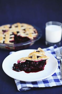 Zesty Blueberry Pie (via Bloglovin.com )