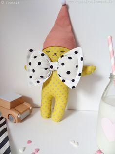 Handmade doll by Youttle - www.youttle.blogspot.fr