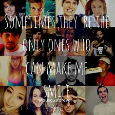 I wanna make one with my favorite youtubers