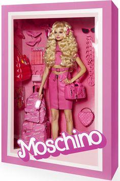 Vogue Paris - Real Life Designer Barbie Dolls - Moschino.Giampaolo Sgura for Vogue Paris