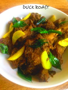 Recipe – DUCK ROAST (nadan tharavu roast) Duck roast or tharavu roast is a classic traditional dish of Kerala. It is prepared on Christmas or Easter celebrations and is hugely enjoyed by everyone. Duck roast is one of the many dishes my mum-in-law cooks for Christmas annual lunch and we all devour every bite, forgetting the calories. There are many variations and one such variation I am sharing today.