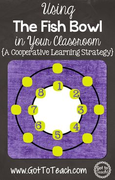 The Fish Bowl: A Cooperative Learning Strategy