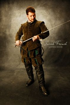 Renaissance Rapier Doublet - Northern Italian, c.1530-1540 - by Sarah French