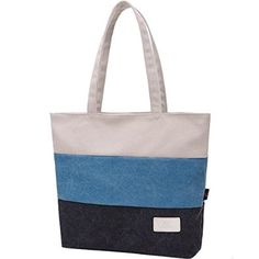 BG® Women Canvas Multi Colored Tote Shoulder Handbag Imported Canvas Size : 13in H x 12.60in W x 3.54in D Handle Drop: 9.45 inches Two interior slip pockets and one interior back zipper pocket Zipper closure