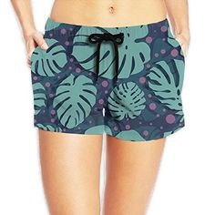 f08ec2001b Polka Dotted Background Womens Quick Dry Surfing Swim Trunks *** Check out  this great