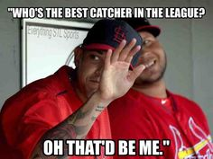 Who's the best catcher in the league?