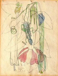 "windypoplarsroom:  Charles Rennie MacKintosh - ""Cintra"""
