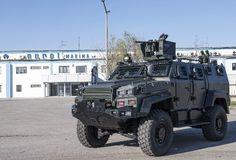Nurol Makina Ejder Yalçın 4x4 Armored Combat Vehicle APC with ASELSAN remote turret system