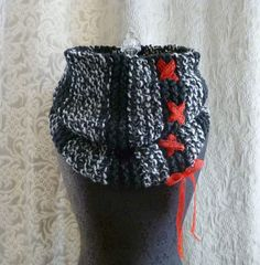 I would use wool insetad of the red lace.