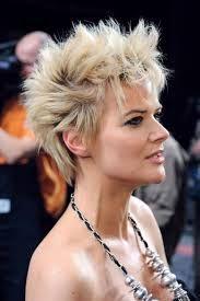 Punk chic hair