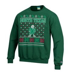 Somebody get me this! #unt #meangreen #scrappy #ugly #christmas #sweater