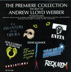 """""""This CD is a great compilation of some of Andrew Lloyd Webber's  hits. """"  http://www.amazon.com/gp/offer-listing/B000002O5W/ref=dp_olp_collectible?ie=UTF8&condition=collectible&m=A3030B7KEKNTF7"""