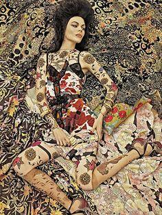 Vogue pattern.
