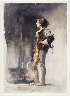 "darklinggallery: "" John Singer Sargent A boy in costume """