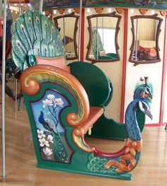 Calgary Zoo - Carousel Works Peacock Chariot