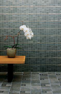 ann sacks tile / porcelain luxor in grey