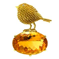 "TIFFANY & CO ""Bird On A Rock"" 