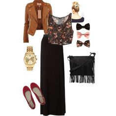 """""""maxi fall"""" by amy-jameslife on Polyvore-- I love everything about this outfit"""