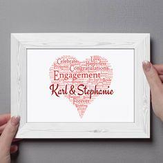 Engagement Personal Prints 40 Ideas On Pinterest Engagement Engagement Gifts Personalized Engagement