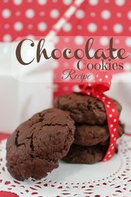 Chocolate Cookies Re