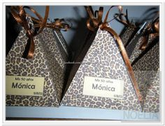 Tienda De Cajas A Medida: Cajitas Piramides