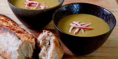 Steven Doherty's pea and ham soup recipe might take a while to prepare, but the time is a worthy investment in creating the finished flavour of the soup. This fantastic soup recipe is British comfort food at its finest.