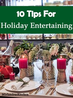 10 Tips for Holiday Entertaining - Finance tips, saving money, budgeting planner What Is Sleep, Savings Planner, Friends Mom, Make It Through, Seasonal Decor, That Way, Holiday Recipes, Holiday Ideas, Holiday Gifts