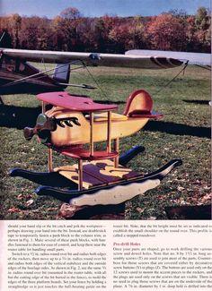 Rocking Airplane Plans