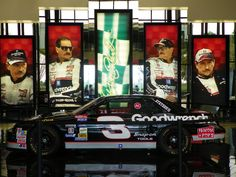 Grand entrance to DEI........this car is the 1994 car Dale Sr won his last Championship. http://www.pinterest.com/jr88rules/dale-earnhardt-memorial/ #DaleEarnhardtMemorial