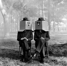 Rodney SMITH :: Cardboard Box Twins Nº 3