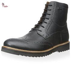U Sandford B ABX A, Sneakers Basses Homme, Bleu (Navy/Dark Grey), 45 EUGeox