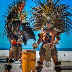Danzas Prehispánicas #puerto vallarta