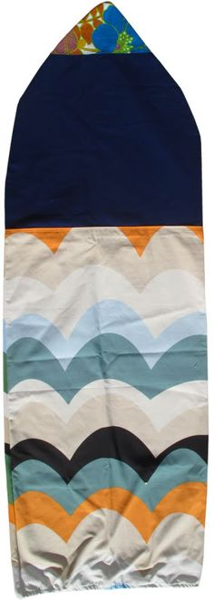 Love love love surfing-vintage surfboard cover.  pinned by www.auntbucky.com  #surfing #beach