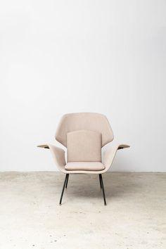 Martin Eisler and Carlo Hauner, Pair of 'Andorinha' Chairs, 1955