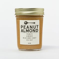 Peanut Almond Butter (love this packaging!)