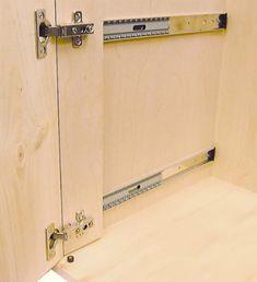 """Pocket Door Hinge Set - 20"""" (set for one door)"""