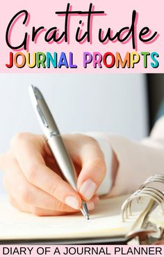 Let these 50 gratitude journal prompts inspire you to live a happier, more grateful life! #gratitudejournal #journaling #writingprompts Gratitude Journal Prompts, Journal Quotes, Day Planner Organization, Journal Questions, Bullet Journal How To Start A, Day Planners, Bullet Journal Inspiration, Bullet Journals, Life Planner