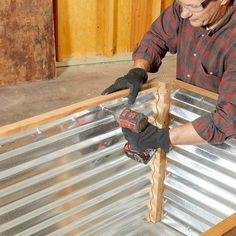 How to Build Raised Garden Beds Family Handyman The Family Handyman # Cheap Raised Garden Beds, Building Raised Garden Beds, Raised Beds, Metal Garden Beds, Raised Gardens, Balcony Garden, Raised Planter, Home Vegetable Garden, Corrugated Metal