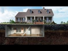 10 Bizarre Secret Rooms Found in People's Homes. Best Way To Finish A Basement. Basement Decorating Ideas And Projects Underground House Plans, Underground Living, Underground Shelter, Underground Homes, Casa Bunker, Bunker Home, Secret Rooms In Houses, Future House, Narrow Basement Ideas