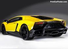 Lamborghini Aventador LP720-4 50th Anniversary 2013 poster, #poster, #mousepad, #tshirt, #printcarposter