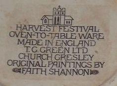 Harvest Festival based on original paintings by Faith Shannon