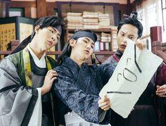 Baekhyun - 160908 SBS 'Scarlet Heart: Ryeo' website update Credit: SBS. (SBS…