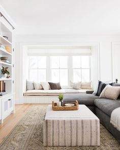 take notes from the Danish and make your home more cozy and inviting, year-round Living Room Remodel, Home Living Room, Living Room Furniture, Living Room Designs, Living Room Decor, Bedroom Decor, Danish Living Room, Bedroom Benches, Window Furniture