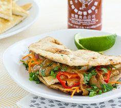 Recipe | Crispy Tofu Sandwiches with Ginger Peanut Sauce