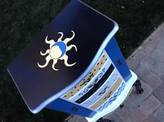 Jewelry ArmoireBLUE MOON hand painted organizer by accentbydesign, $495.00
