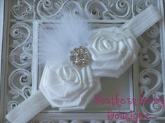 NEW ITEMBoutique Baby Girl Headband with by SOUTHERNBABYBOUTIQUE, $15.95