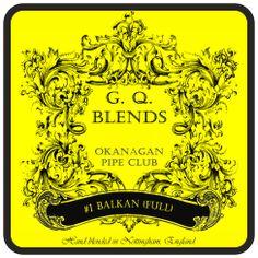 GQ Blends - Okanagan Pipe Club #1 (Balkan) - GQ Tobaccos